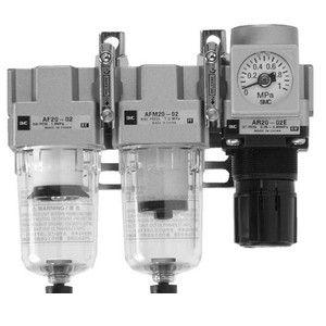 SMC AC30D-02G-A フィルタレギュレータ+ミストセパレータ AC30D02GA