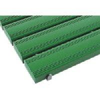 【個数:1個】テラモト[MR-093-242-1]抗菌安全スノコ 600×1160mm 緑 組立なし MR0932421