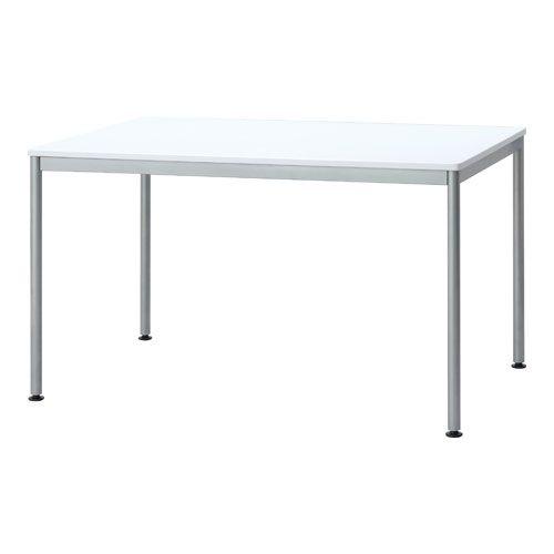 ナカバヤシ [81584] ユニットテーブル ホワイト 1200*750 HEM-1275W 81584