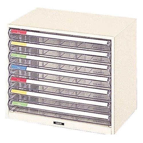 ナカバヤシ [90821] レターケース 机上 書類収納 B4サイズ B4-W7P 90821