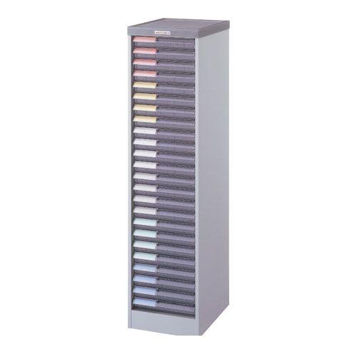 ナカバヤシ [94086] メディシス・フロアタイプA4 書類棚 書類整理 H1200 MAF-201N グレー 94086