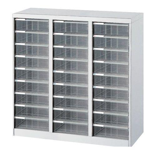 ナカバヤシ [97009] アバンテV2 フロアケース 書類ケース 書類棚 A4×3列 AF-M27 ニューグレー 97009