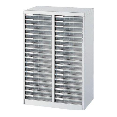 ナカバヤシ [97012] アバンテV2 フロアケース 書類ケース 書類棚 A4×2列 AF-36 ニューグレー 97012