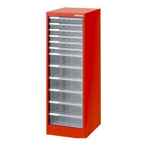 ナカバヤシ [97020] アバンテV2 フロアケース 書類ケース 書類棚 A4 浅6深6段 AF-H12 レッド 97020