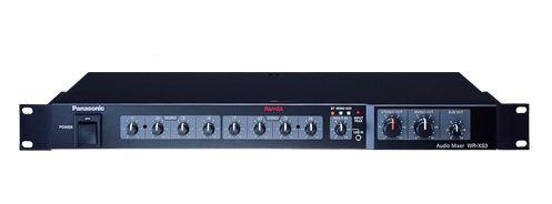 パナソニック Panasonic WR-XS3 RAMSAシリーズ コンパクトミキサー 9イン・3アウト WRXS3