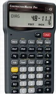 CALCULATED INDUSTRIES INC V040659 建築用電卓Construction M. PRO 4065 V040659 【送料無料】