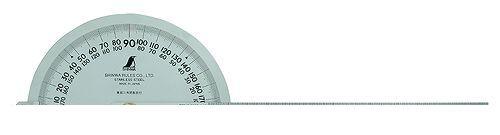 シンワ測定 [62898] プロトラクター 300 シルバー φ210 竿目盛30 62898