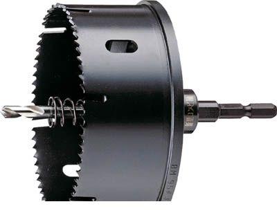 ハウスB.M VU-100-120 コンビ軸排水マス用ホルソー VU100120