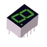 ローム(ROHM) [LA-401MD] 1桁LED数字表示器(7セグLED) (100個入) LA401MD 【送料無料】