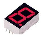 ローム ROHM LA-601VL 1桁LED数字表示器 7セグLED 100個入 LA601VL 【送料無料】