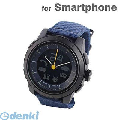 CONNECTEDEVICE 4562187616383 Bluetooth SMART対応アナログ腕時計 COOKOO2 ブルー【送料無料】
