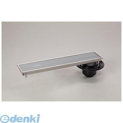 シマブン HRAB-15L750 直送 代引不可・他メーカー同梱不可 小川くん 排水ユニット樹脂グレーチング浅型 防水縦引き グレー 幅144×長さ744 HRAB15L750