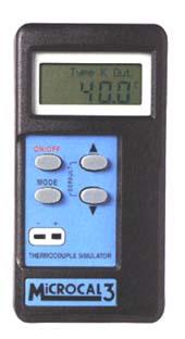 MK MICROCAL-3 温度校正器 熱電対K-タイプ温度計用 MICROCAL3
