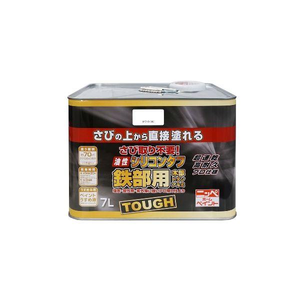 ニッペホームプロダクツ[4976124217951] 油性シリコンタフ ホワイト【白】 7L