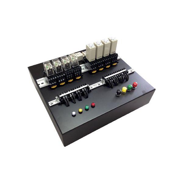 代引不可・他メーカー同梱不可 直送 アドウィン ADWIN AKE-1405-02 電気保全【電気系保全作業】技能検定用練習盤 フルセット AKE140502