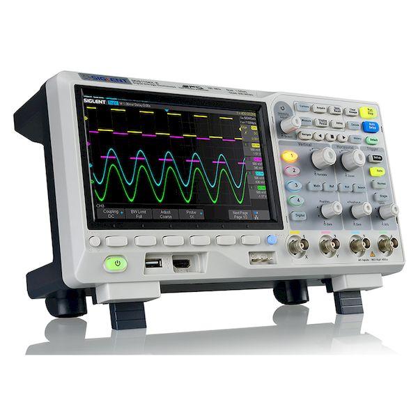 Siglent SDS1104X-E 直送 代引不可・他メーカー同梱不可 デジタル・フォスファ・オシロスコープ 100MHz 4チャンネル SDS1104XE