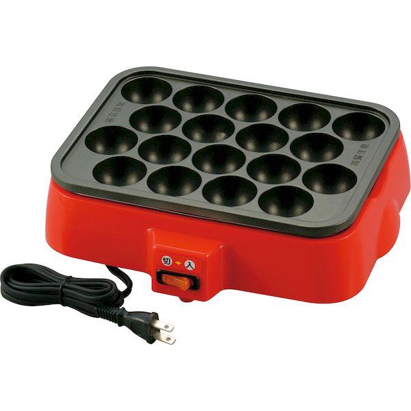 4981889010341 新津興器 新品 NT-400 買物 着脱式角型電気たこ焼き器