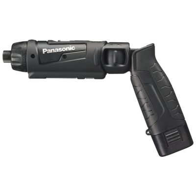 【あす楽対応】Panasonic EZ7421LA1S-B 7.2V充電スティックドリルドライバー 黒EZ7421LA1SB