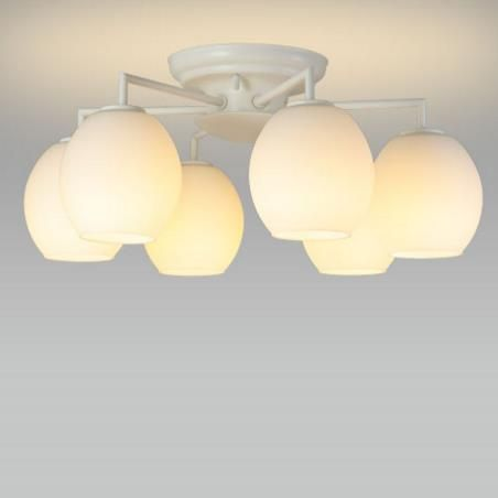 【送料無料】NEC LEDシャンデリア ~6畳用 電球色 SXZ-LE176701L