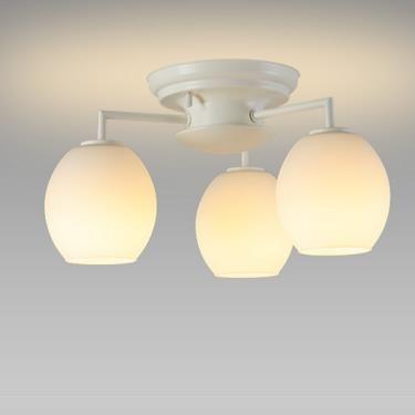 【送料無料】NEC LEDシャンデリア 小形電球40W形相当×3灯 電球色 SXZ-LE173701L
