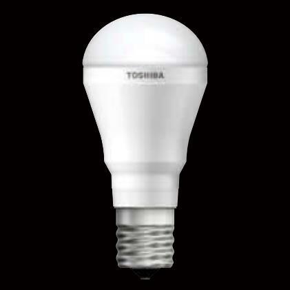 【送料無料】東芝 LED電球 ミニクリプトン形 60W形相当 昼白色 口金E17 断熱材施工器具対応 下方向タイプ [10個セット] LDA6N-H-E17/S/60W-10SET
