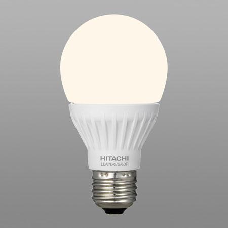 【送料無料】日立 LED電球 一般電球形 60W形相当 電球色 口金E26 全方向タイプ [10個セット] LDA7L-G/S/60F-10SET