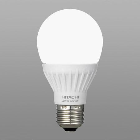 送料無料 日立 LED電球 気質アップ 一般電球形 60W形相当 昼光色 口金E26 LDA7D-G 公式ストア 60F-10SET S 10個セット 全方向タイプ
