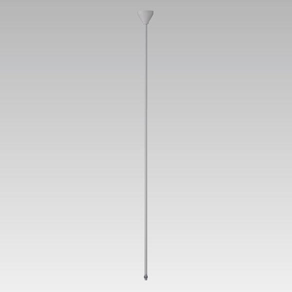 【送料無料】東芝 軽量パイプ吊具 Φ16 長さ150cm シルバー色 ライティングレール用 [10本セット] NDR0315S-10SET