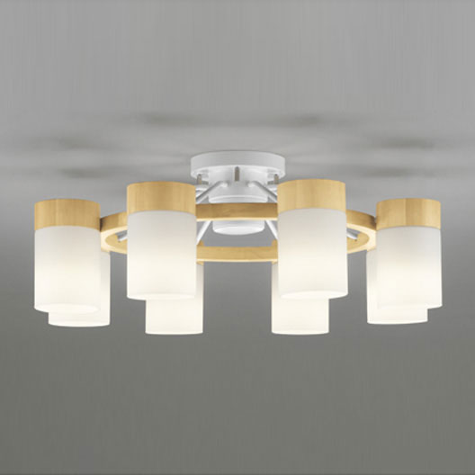 【送料無料】オーデリック LEDシャンデリア ~12畳用 白熱電球60W×8灯相当 電球色 OC257061LC