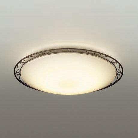 【送料無料】大光電機 LEDシーリングライト ~12畳用 調光・調色機能付 電球色~昼光色 DCL-38934