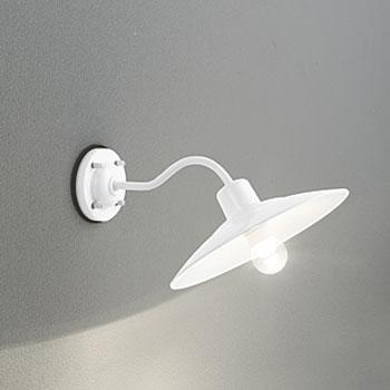 【送料無料】オーデリック LEDポーチライト 白熱球40W相当 電球色 ホワイト 調光可 OG254103LC
