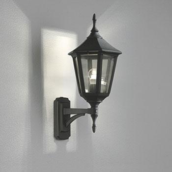 【送料無料】オーデリック LEDポーチライト 白熱球40W相当 電球色 黒色 OG041681LC