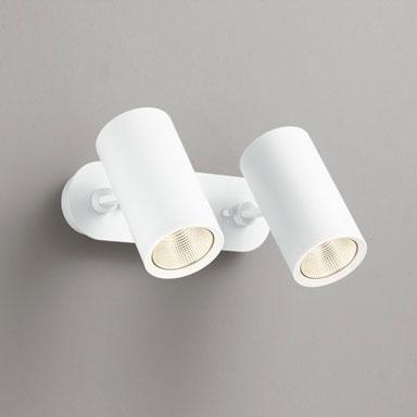 【送料無料】オーデリック LEDスポットライト 白熱球100W×2灯相当 電球色 調光可 OS256438