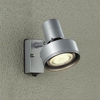 【送料無料】大光電機 LEDエクステリアライトスポットライト 人感センサー付 LEDビームランプ150W相当/100W相当 ランプ別売 シルバー DOL-3764XS