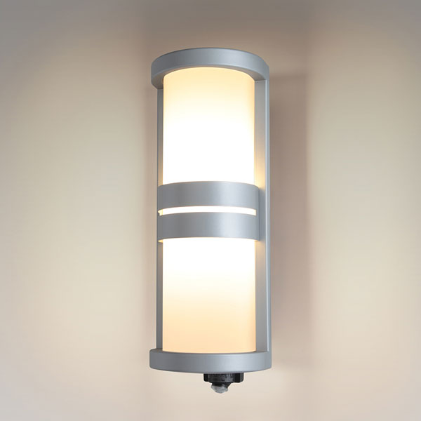 【送料無料】NEC LEDポーチライト 60W形相当 電球色 センサー機能付 SXWE-LE261735-SL