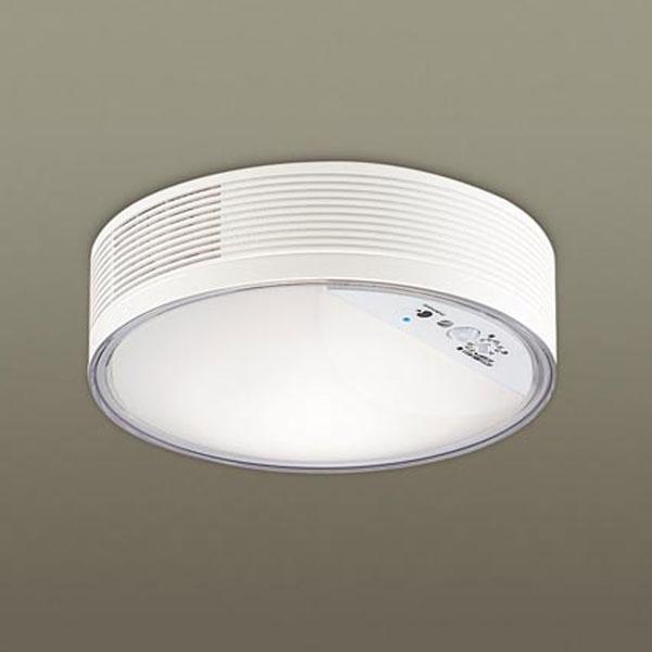 【送料無料】パナソニック LED小型シーリングライト ナノイー搭載 センサ付 白熱球60W相当 温白色 直付タイプ LGBC55001LE1