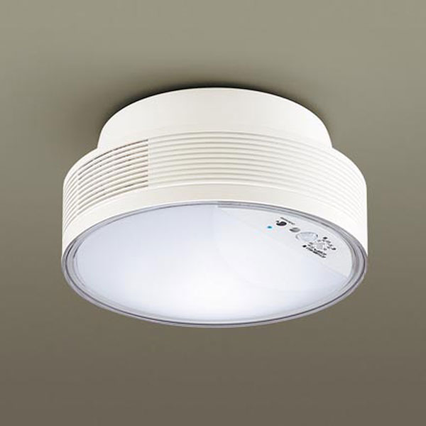 【送料無料】パナソニック LED小型シーリングライト ナノイー搭載 センサ付 白熱球60W相当 昼白色 引掛シーリングタイプ LGBC55100LE1