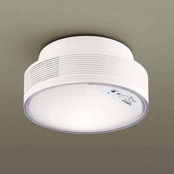 【送料無料】パナソニック LED小型シーリングライト ナノイー搭載 センサ付 白熱球60W相当 温白色 引掛シーリングタイプ LGBC55104LE1
