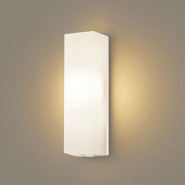 【送料無料】パナソニック LEDポーチライト センサ付 白熱球60W相当 電球色 LGWC80270LE1