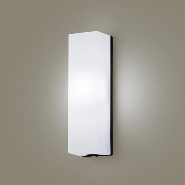 【送料無料】パナソニック LEDポーチライト センサ付 白熱球60W相当 昼白色 LGWC80291LE1
