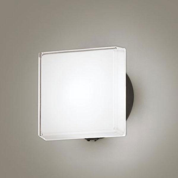 【送料無料】パナソニック LEDポーチライト センサ付 白熱球40W相当 昼白色 LGWC80327LE1