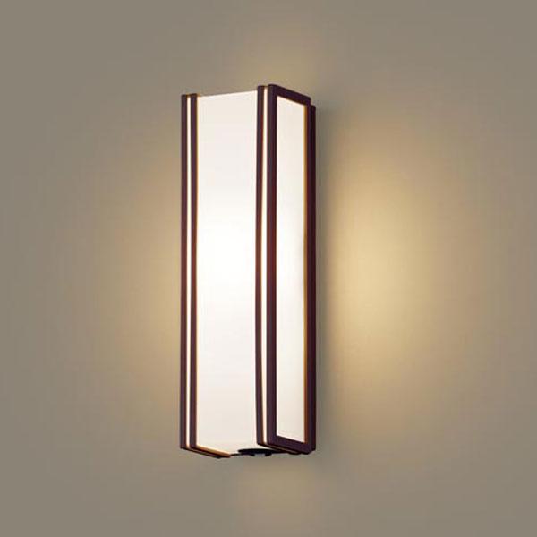 【送料無料】パナソニック LEDポーチライト センサ付 白熱球40W相当 電球色 LGWC80403LE1