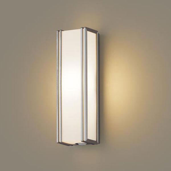 【送料無料】パナソニック LEDポーチライト センサ付 白熱球40W相当 電球色 LGWC80404LE1