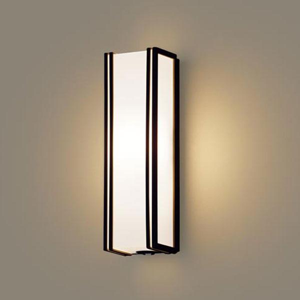 【送料無料】パナソニック LEDポーチライト センサ付 白熱球40W相当 電球色 LGWC80405LE1