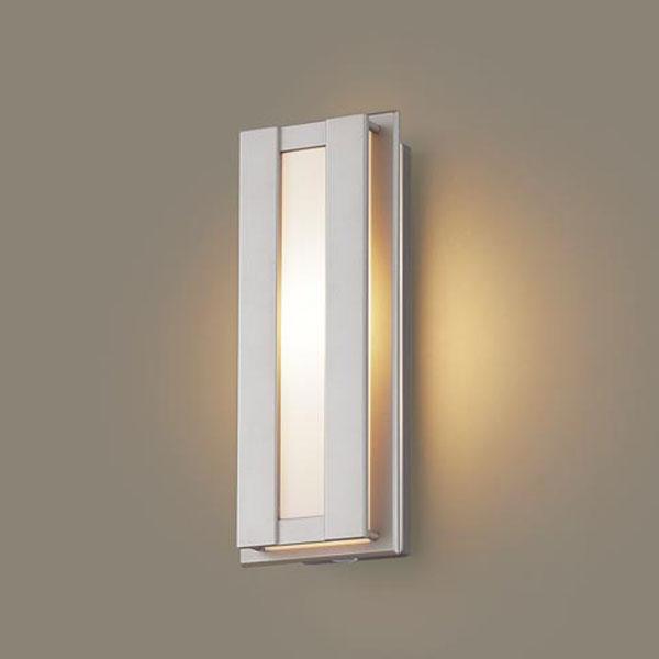 【送料無料】パナソニック LEDポーチライト センサ付 白熱球40W相当 電球色 LGWC80414LE1