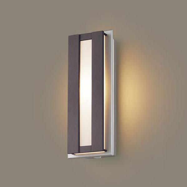 【送料無料】パナソニック LEDポーチライト センサ付 白熱球40W相当 電球色 LGWC80415LE1