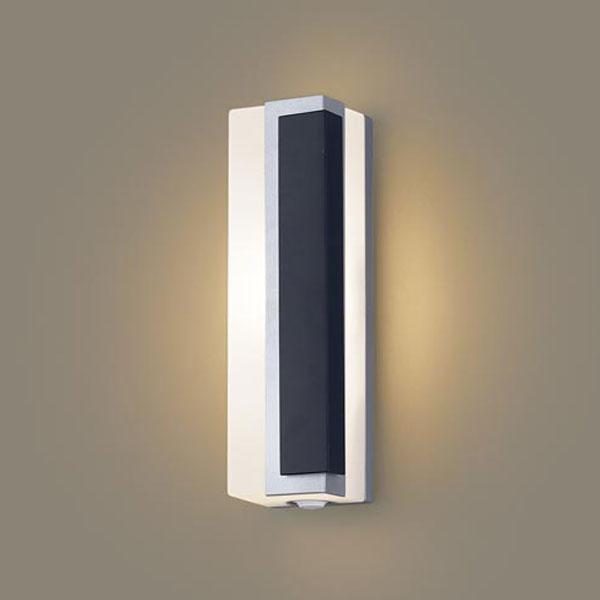 【送料無料】パナソニック LEDポーチライト センサ付 白熱球40W相当 電球色 右側遮光 LGWC80446LE1