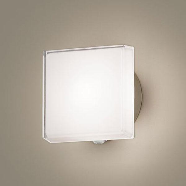【送料無料】パナソニック LEDポーチライト センサ付 白熱球40W相当 電球色 フラッシュ機能付 LGWC81305LE1