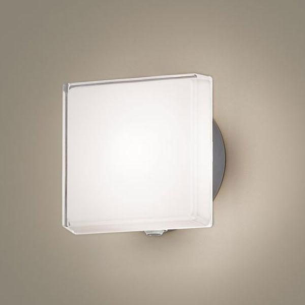【送料無料】パナソニック LEDポーチライト センサ付 白熱球40W相当 電球色 フラッシュ機能付 LGWC81306LE1