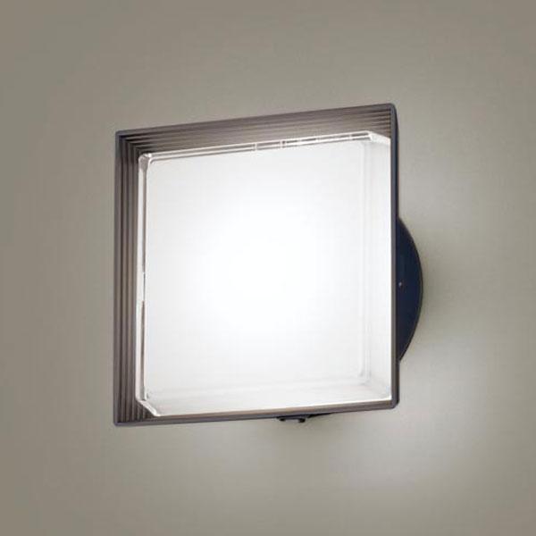 【送料無料】パナソニック LEDポーチライト センサ付 白熱球40W相当 昼白色 フラッシュ機能付 LGWC81322LE1